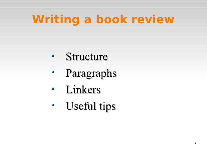 guidelines for writing a book report What this handout is about this handout will help you write a book review, a report or essay that offers a critical perspective on a text it offers a process and suggests some strategies for writing book reviews.