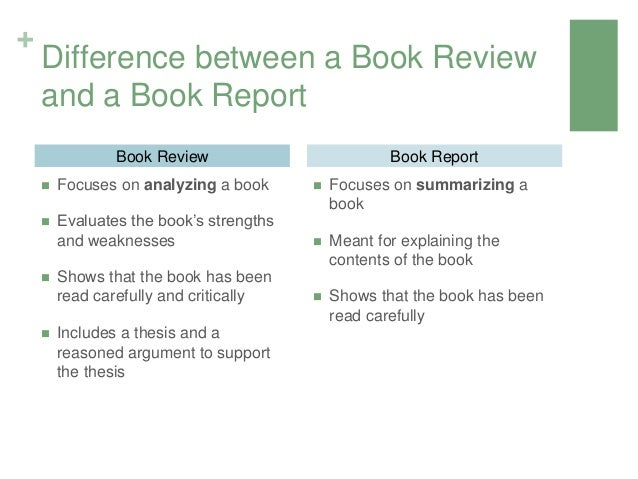 Homework help on writing a book report