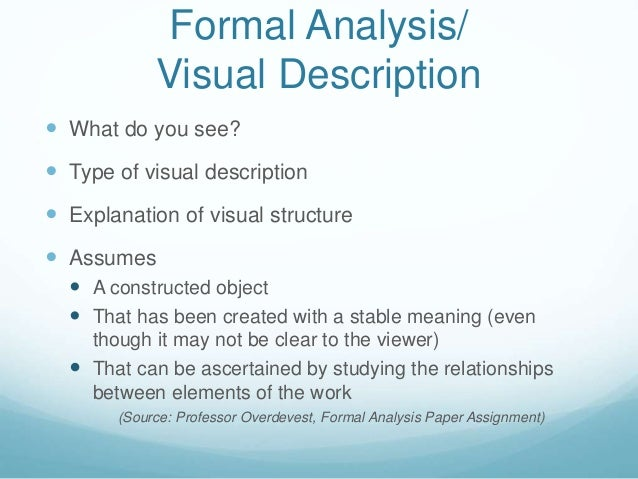 Writing a doctoral thesis visual analysis