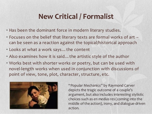 a argumentative essay on the story of a hour using a formalist approach Honestly i don't believe that the yellow wallpaper is a feminist story at  i wrote a feminist analysis on the yellow wallpaper for my college  national essay.