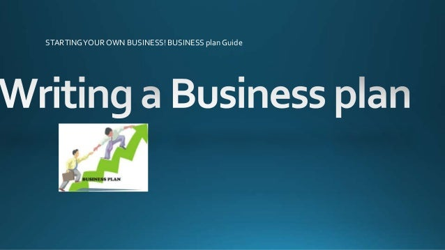 writing a business plan for a blog