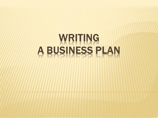 I need a business plan writer
