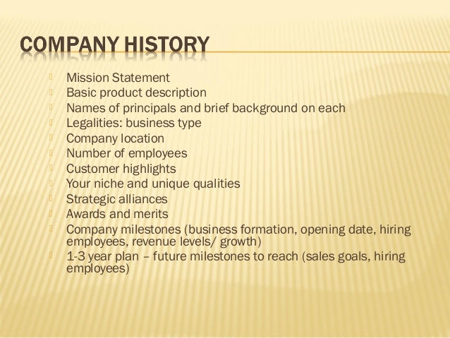 How to Write a Business History