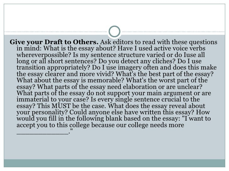 Sample Essay Questions for College Apps