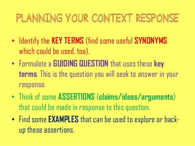 contextual analysis example essay pdf
