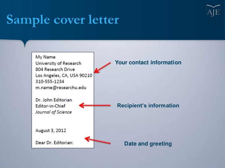 ... Cover Letter; 18.  Who To Write Cover Letter To