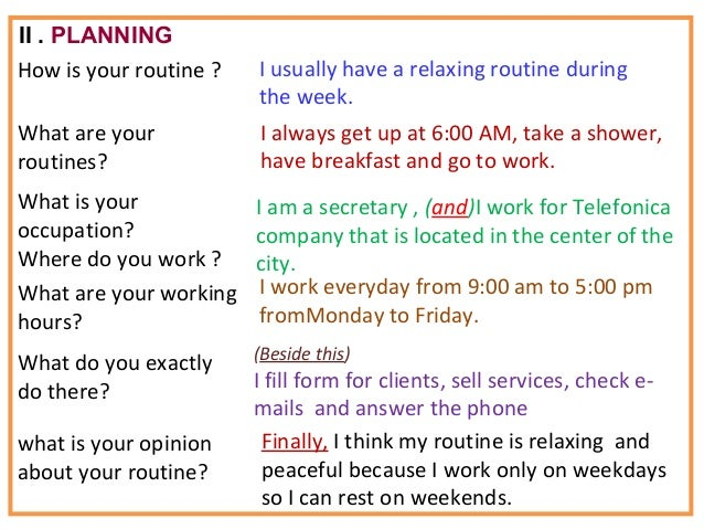 Daily Routines Vocabulary Games