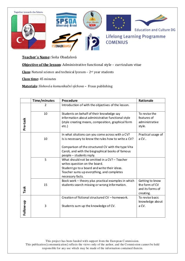 lesson plan writing a report