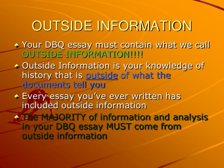 how to write an apush dbq essay Our customizable super-cheap essay writing services are beautiful everywhere across the planet to keep the standing of the clients buyers across the globe are influenced and certain by our bargain-priced essay writing options and that is the reason why we obtain plenty of instructions day to day.