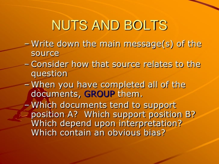 outside information dbq essay How to incorporate outside information in the dbq essay.