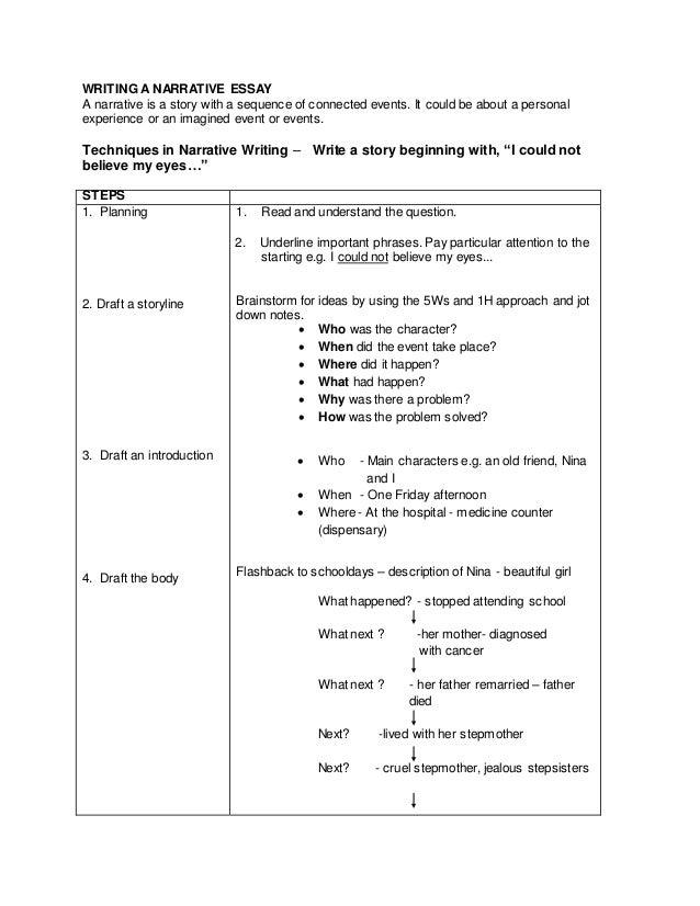 writing a descriptive essay about a person