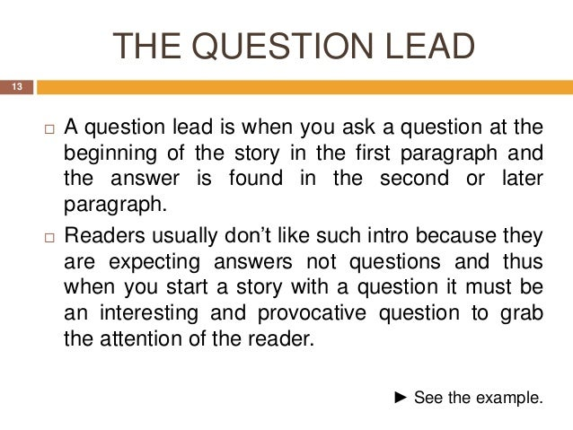 article questions Many would agree that for inquiry to be alive and well in a classroom that, amongst other things, the teacher needs to be expert at asking strategic questions with.