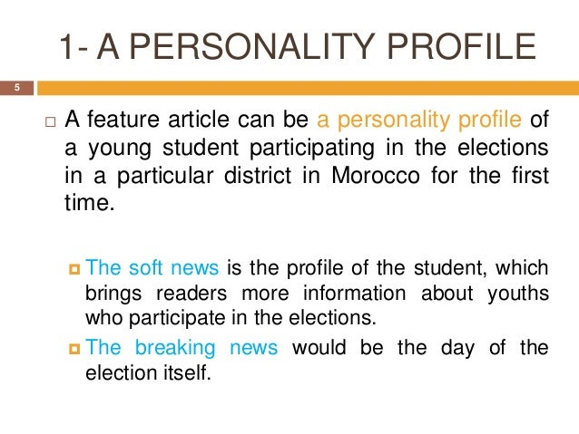 How to Write a Personal Profile for Website