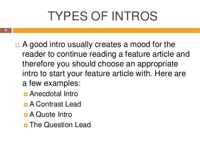 start writing article