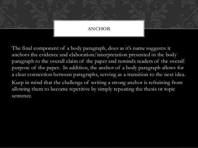 Essay of purpose of study
