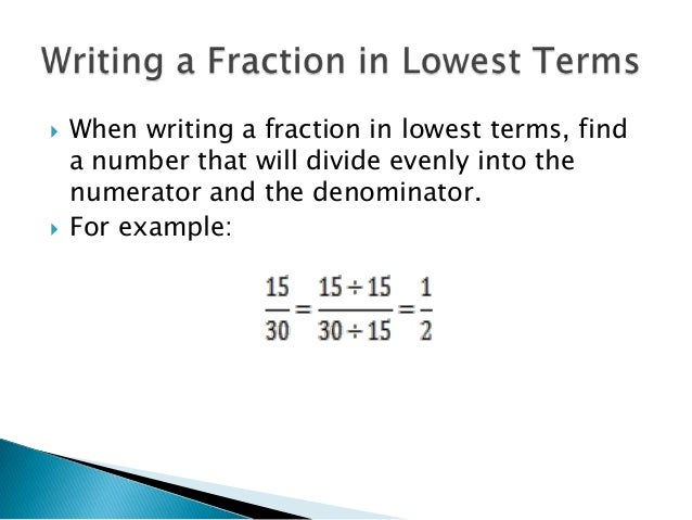 how to write ratio as a fraction
