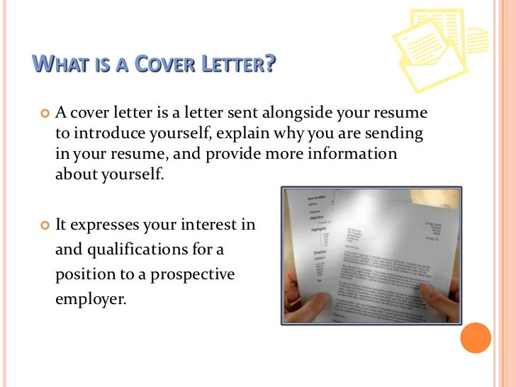 writing good cover letters