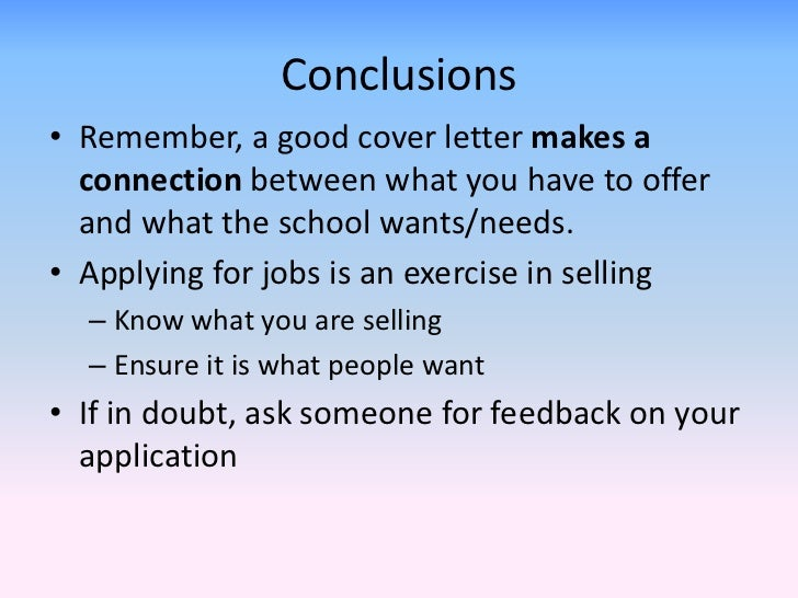 writing a great cover letter When you're applying for jobs, your cover letter can be the determining factor in whether you hear nothing from an employer or.