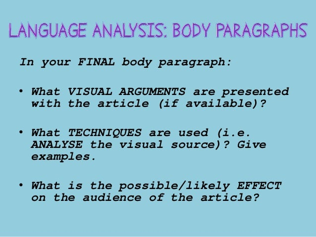 writing language analysis essay Ap language and composition – grading rubric – synthesis essay  ap language and  lapses in correct diction or sophisticated language, but the essay.