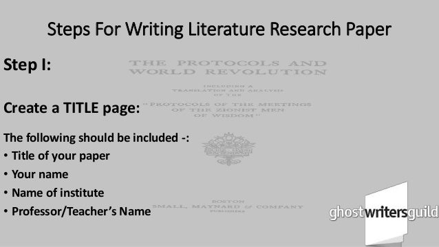 9 steps in writing research paper 9 steps to writing a research paper at concordia university step 1 read more about your, paper, writing, step, research and concordia.