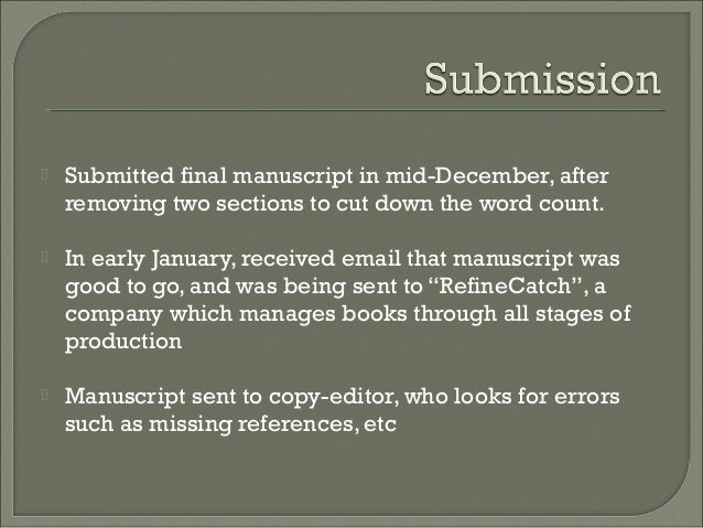 manuscript final copy After calculating number of text pages, you need to add in additional pages for line art and photos by determining an average size (eg, 1/4 page, 1/3 page.