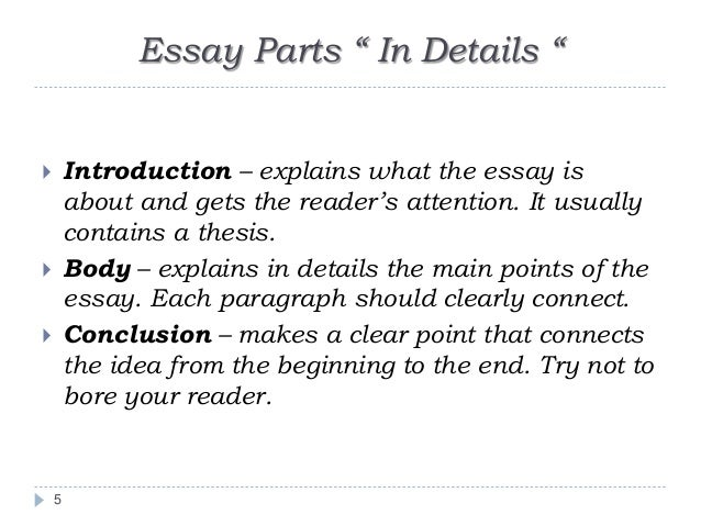Writing an academic essay – Academic Essay