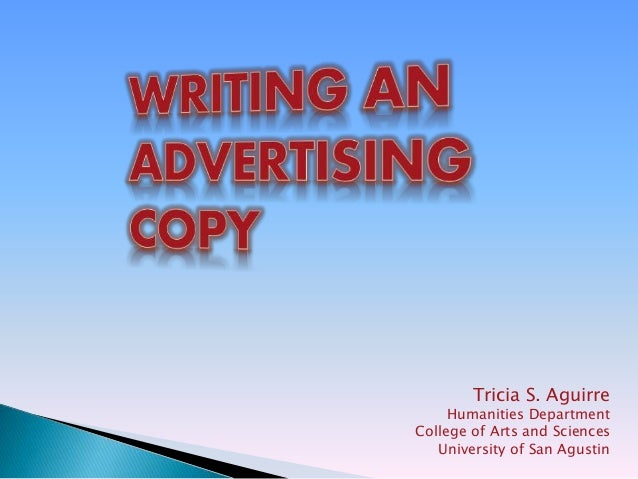 The Ad Copy Cheat Sheet
