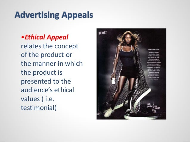 advertising appeal Advertising appeals essaysafter reading advertising's fifteen basic appeals by jib fowles, i examined a few ads to see what appeals are working in each ad i grabbed one of my favorite magazines, elle, a fashion magazine for women.
