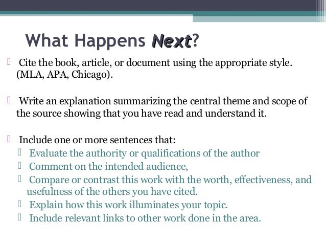 Citing Sources -- Chicago -- Bibliography style