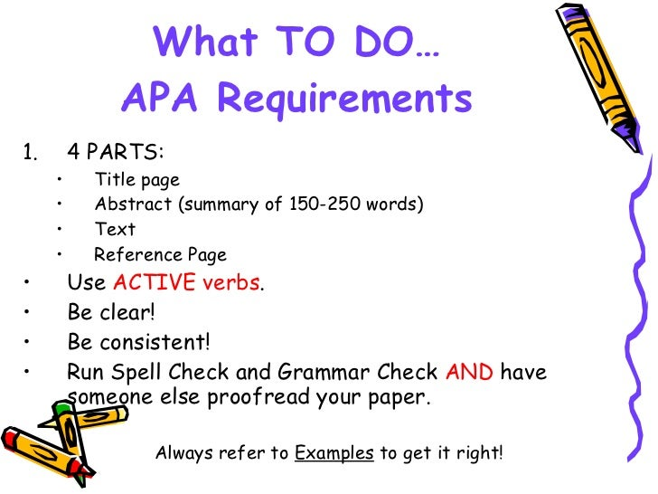 tips on writing apa paper Apa style was created by the american psychological association in order to standardize the formatting of papers written on social and behavioral sciences its manual has rules defining all the aspects of writing, thus making it easier for the authors to both format their own papers and work with the works written by other people.
