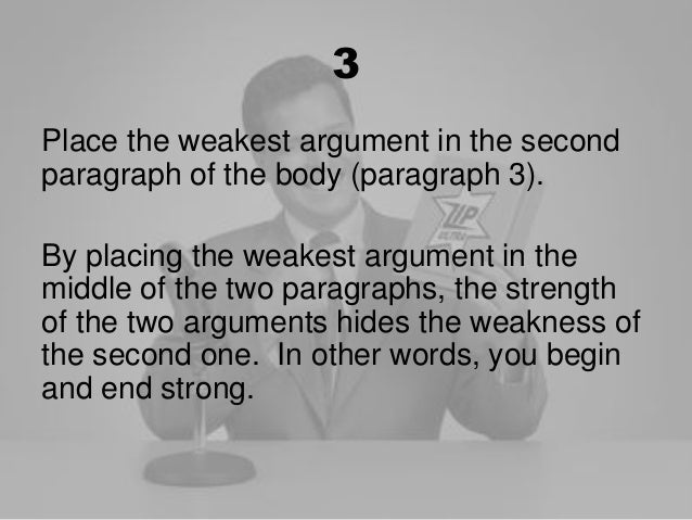 The Argumentative Essay   ppt video online download