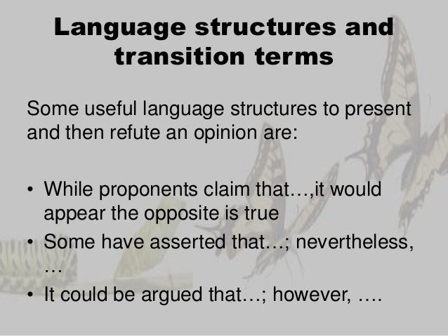 useful phrases for writing argumentative essays Useful phrases for advanced italian students pat eggleton | thursday, september 30, 2010 - 17:34 so we are going to give you some link phrases that you can use in discursive essays or in formal discussion situations.