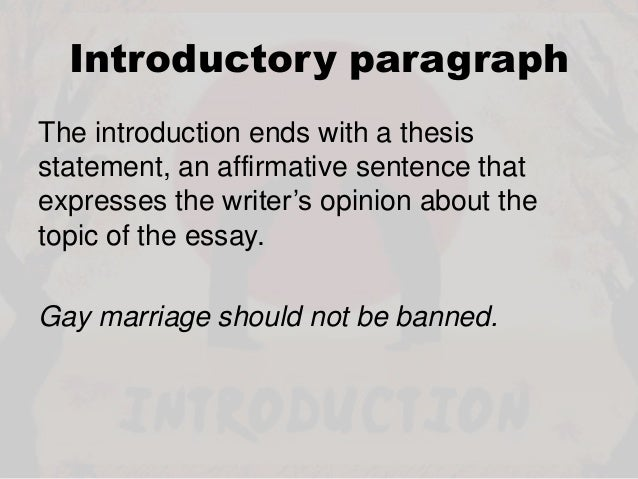 persuasive essay marriage