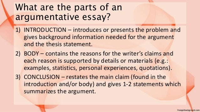 How To Write A Compare And Contrast Essay Outline  Example Of Essay About Life also Debate Essay Writing An Argumentative Essay Essay On Conservation Of Wildlife