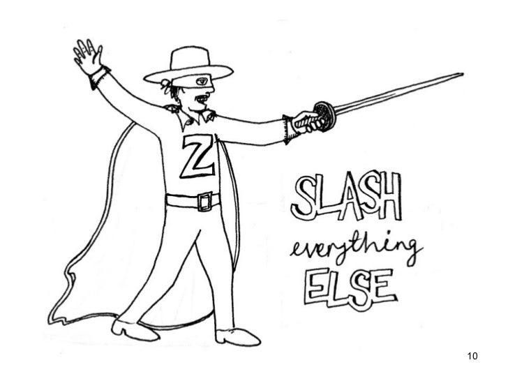 Slash in academic writing