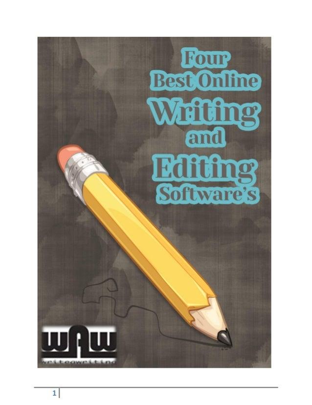 Writing editing online