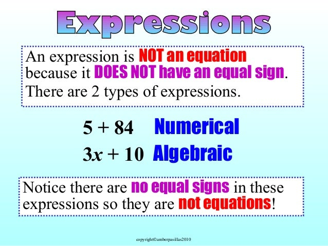 Evaluating expressions with variables: temperature