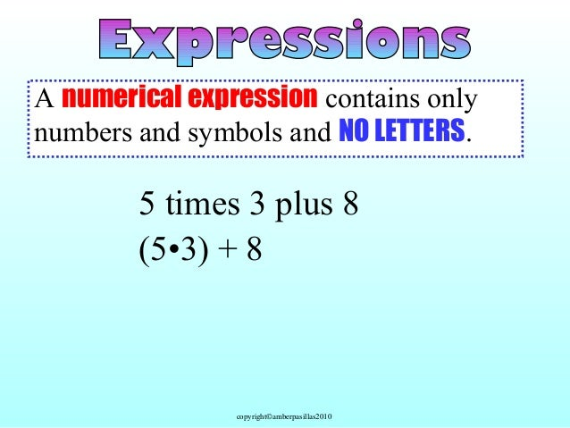 Evaluating Expressions Using Algebra Calculator