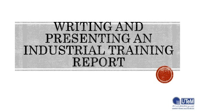 writing and presenting reports Example of a memo report in the writing guidelines for engineering and science students: guidelines to help students of science and engineering make their writing.