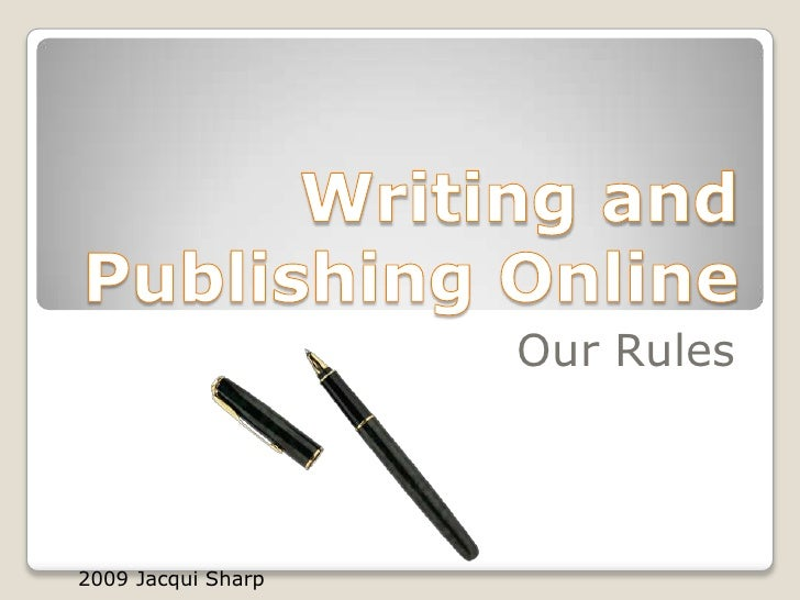publishing writing online Whether you're a teacher, photographer or hobbyist, share your expertise create & self publish your book today.