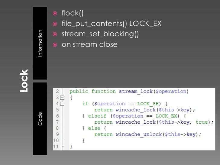  stream_set_option() 5.3 stream_cast() 5.3 stream_metadata() 5.4    › chown()    › chmod()    › chgrp()    › touch()