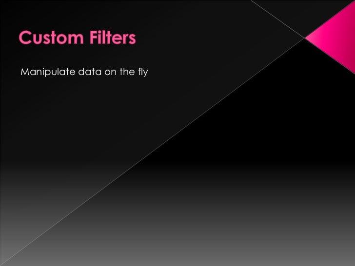Use Case land – when filtersmake sense