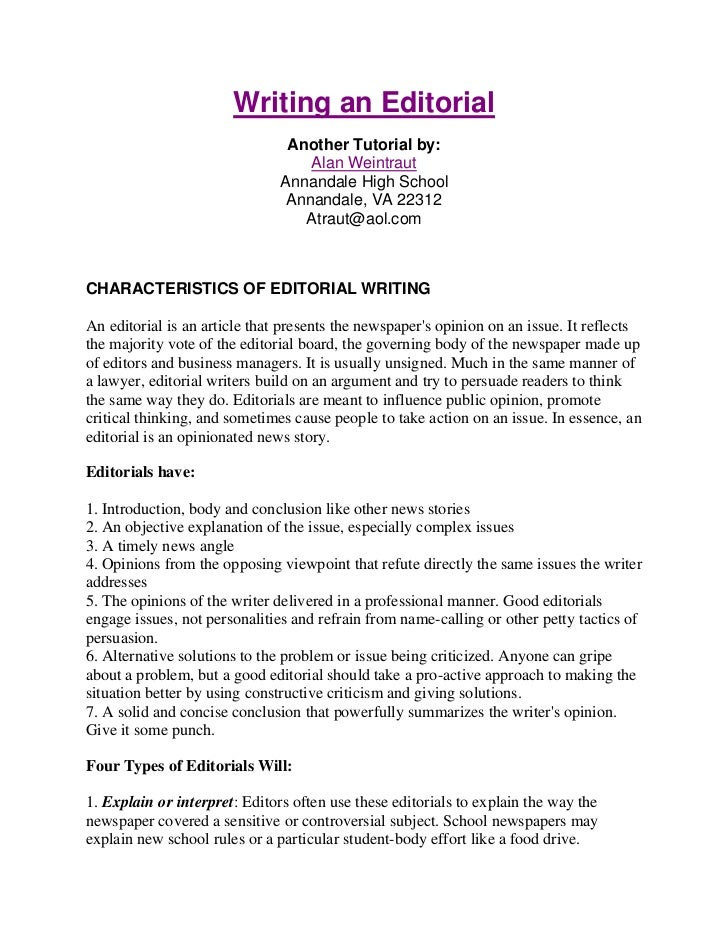 What is an editorial essay writing my admission essay ebook