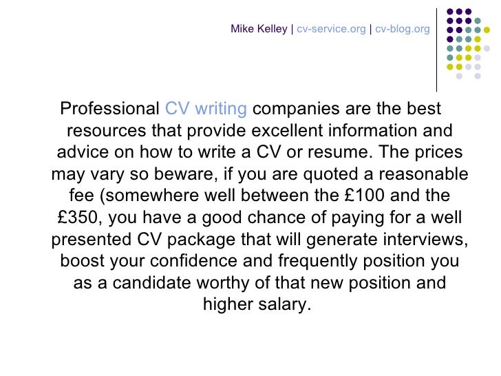 first impressions cv writing service
