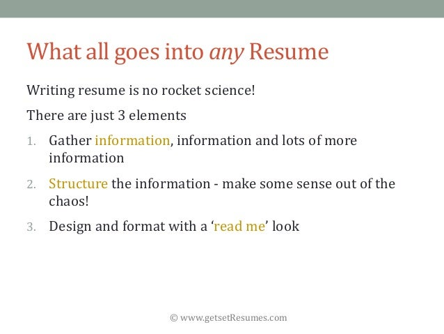 GetsetResumes.com What All Goes  What Goes On A Resume