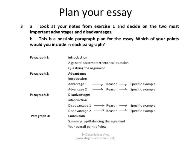 writing an essay paper part