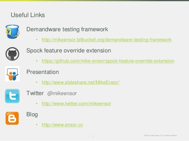 Writing an extensible web testing framework ready for the cloud   slide share Slide 3