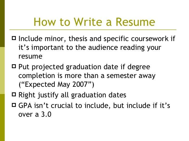writing an eye catching resume
