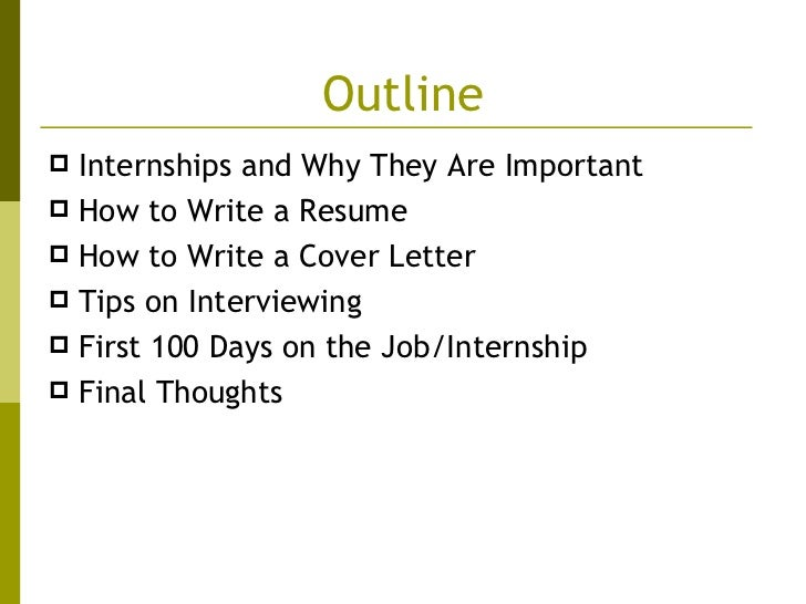 write an eye catching resume and cover letter and prepare for the interview process developed by sarita venkat 2