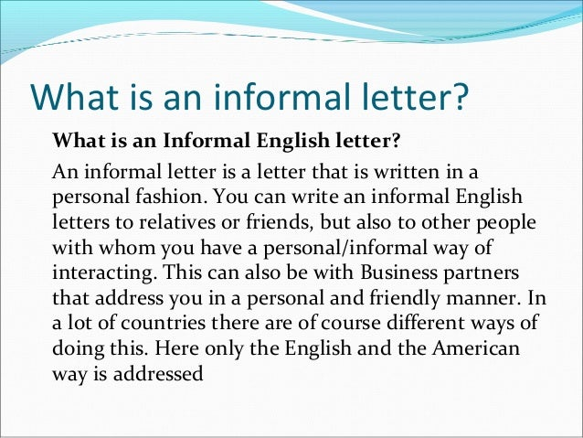 informal essay intro